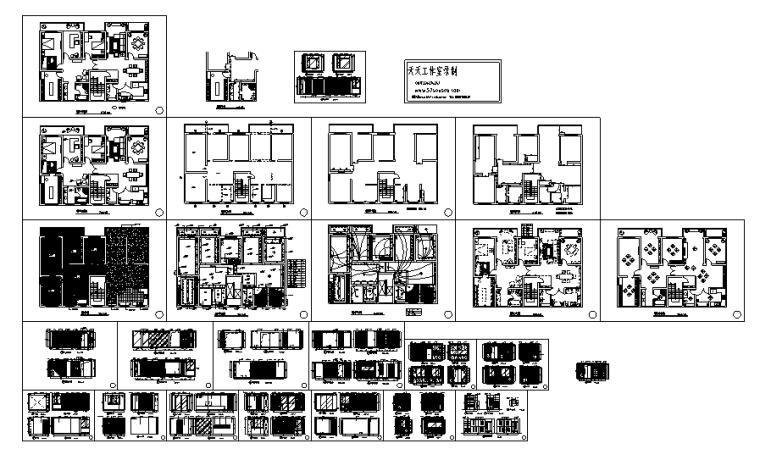 [哈尔滨]施公馆别墅电气设计图纸_1