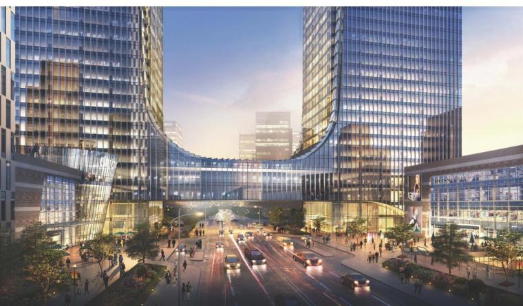 【山东】某环球金融中心规划建筑方案设计文本_3