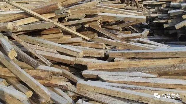 工地上的旧方木,扔了可惜,其实还有很多用途