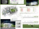 英格兰大学建筑系学生作品集