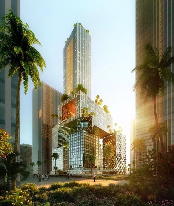 2019建筑竞赛资料下载-MVRDV赢得了设计深圳万科总部大楼的竞赛!