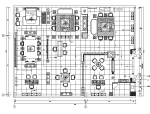 中式风格家具店面设计施工图(附效果图)