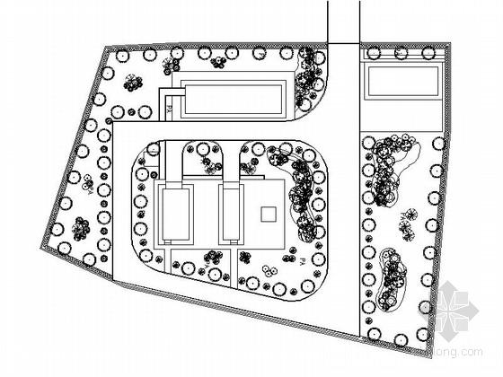 [湖南]乡村提升泵站植物种植施工图