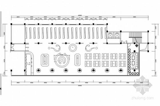 [福建]重点实验小学图书馆室内装修图(含实景图)