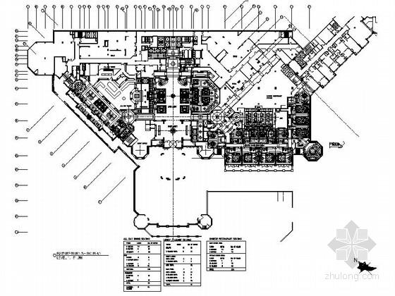 [安徽]国际高端豪华现代商务酒店室内装修施工图(含实景效果)