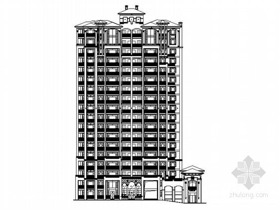 [福建]高层简欧风格住宅区规划设计施工图(200余张图纸)