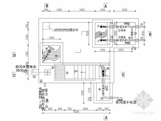 [四川]河渠污水处理设施工程施工图(2015年编制)