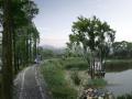 美丽乡村景观效果图PSD分层素材(13)