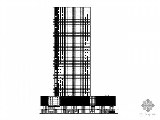[深圳]某三十三层写字楼建筑施工图(129米)