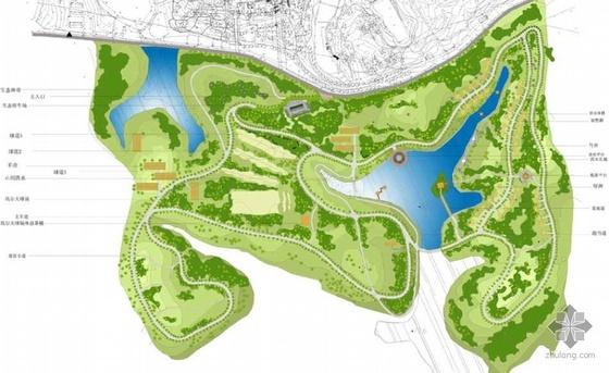 [江西]某农庄景观规划设计方案