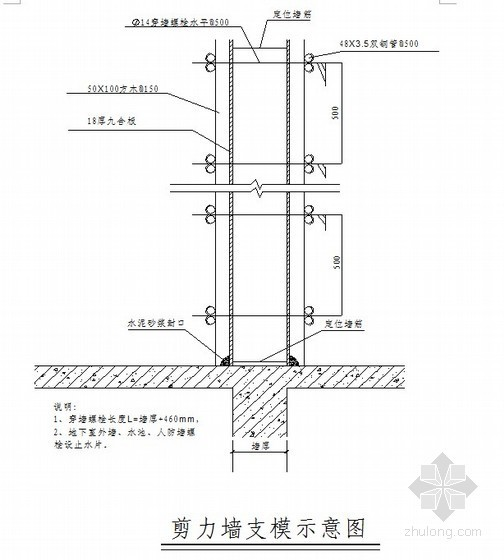 某综合楼模板工程专项施工方案