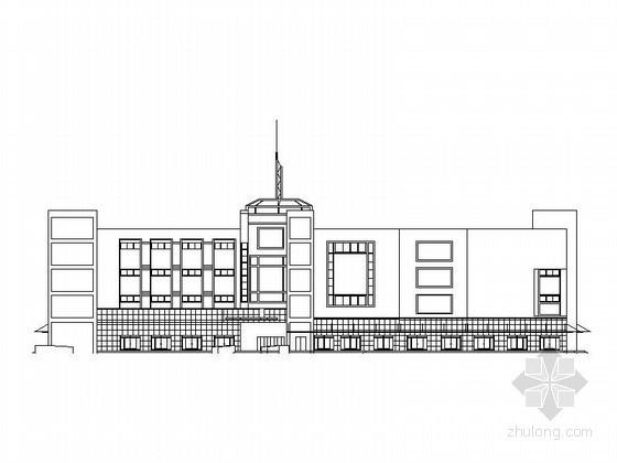 [阳江]某四层大型综合商场建筑施工图