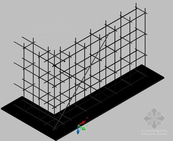 建筑模板工程常用工程图例(CAD图)
