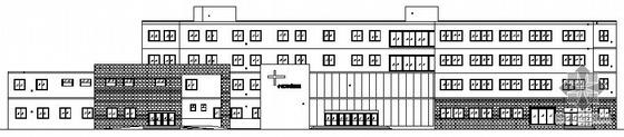 南方某市中小型综合医院楼设计