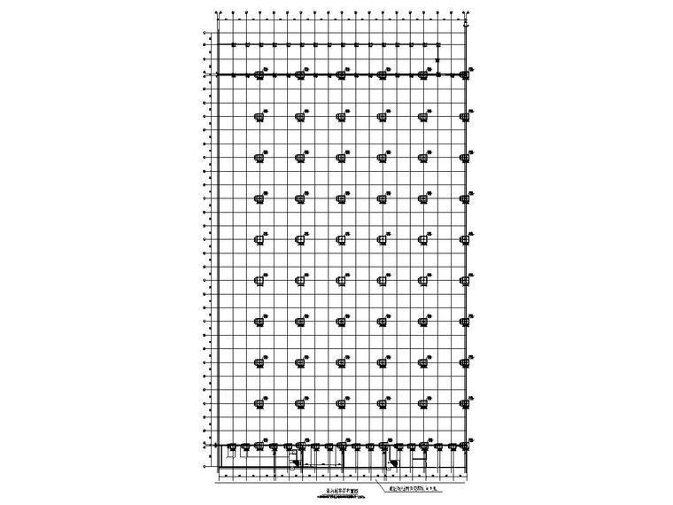 [天津]地上单层钢排架结构(局部门式刚架轻钢结构)焊装车间结施