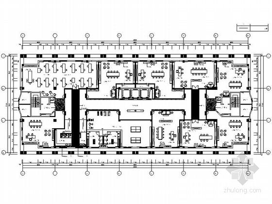 VIP包房室内装修施工图资料下载-[江苏]现代风格会议中心室内装修施工图(含效果图)