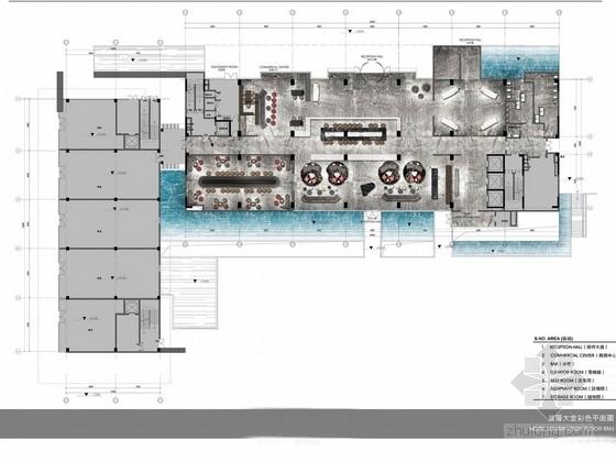 [广州]知名设计事务所五星级酒店设计方案