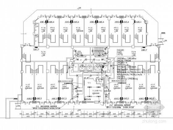 [重庆]商业公寓电气施工图(最新规范 甲级设计院)