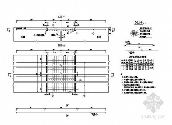 4×12米预应力混凝土空心板桥面连续钢筋构造节点详图设计