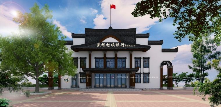 醉人的内蒙古·蒙银银行外立面设计效果图新鲜出炉!