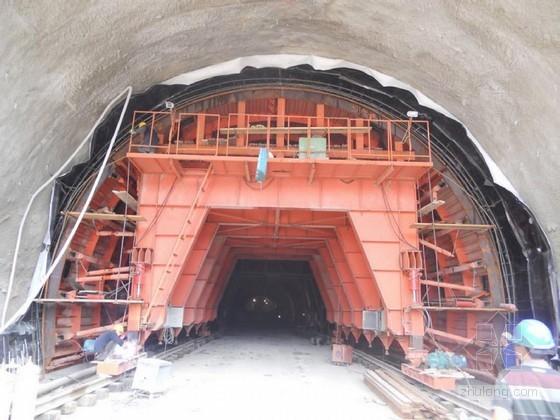 隧道模板台车二次衬砌施工方案