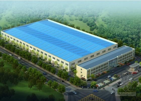 [上海]某厂房钢结构工程预算书实例(全套报表)
