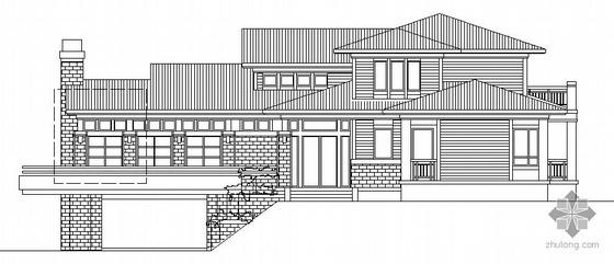杭州绿城某19号套独立山地别墅建筑方案图