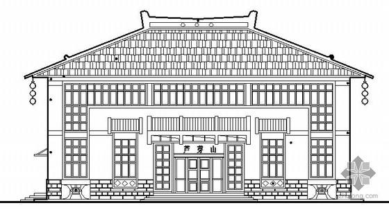 [山西芦芽山]某宣教馆建筑结构电施图(包含节能计算书)