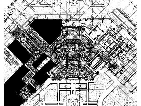 [北京]华丽酒店局部室内装修图(含实景)