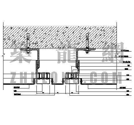 复合铝板幕墙标准大样图2