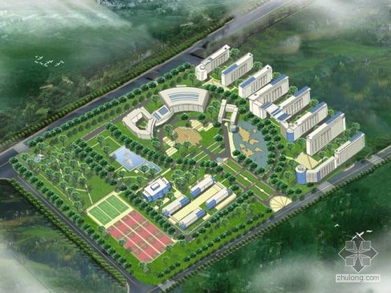 [江西]某大学开发区内住宅区建筑设计方案文本(毕业设计)