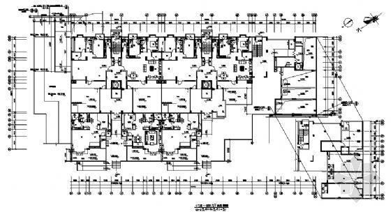 万科高层住宅楼建筑方案图-3