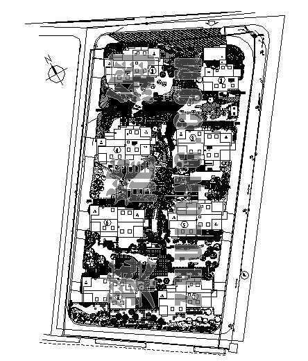 公寓全套景观施工图(一)