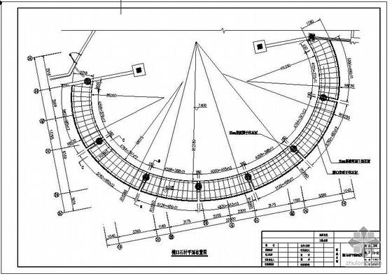 南昌某石材幕墙、入口大门、雨棚结构设计图