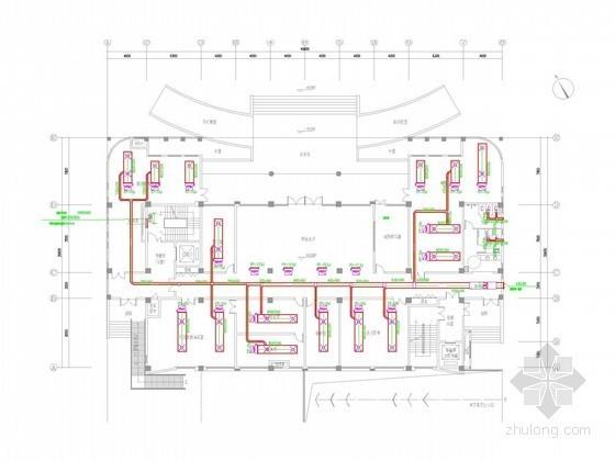 [安徽]高层综合档案馆空调通风及防排烟系统设计施工图