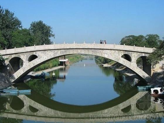 18m跨径空腹式拱桥施工图CAD