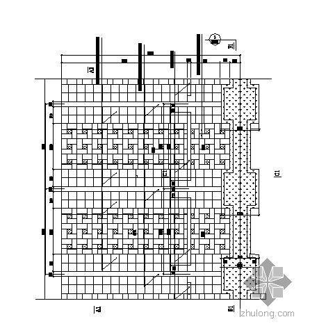 某公园停车场详图