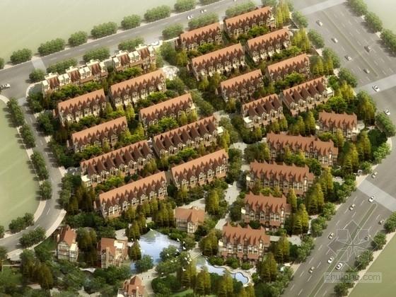 [南京]某别墅区规划及单体设计方案文本(含CAD)