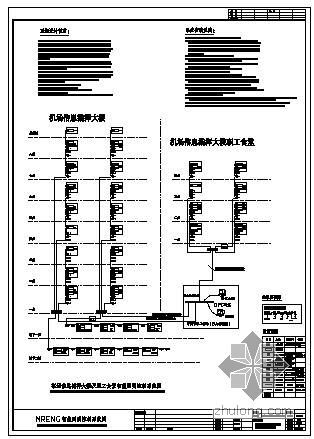 某机场信息大楼智能照明系统图