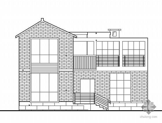凉山某二层小型私人住宅建筑施工图