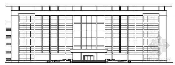 某六层办公楼建筑设计方案图
