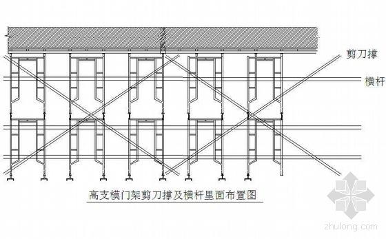 广东某高层高支模施工方案(门架支撑 大模板 计算书)