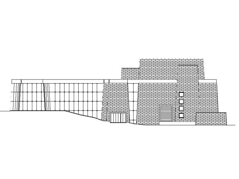 [西藏]大型县级藏式剧场文化活动中心建筑设计方案图纸