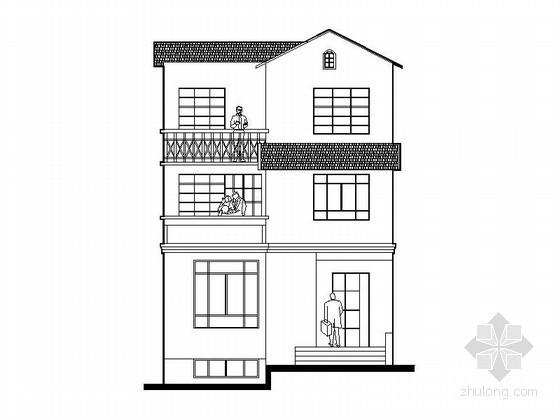 某三层小康农居建筑施工图(240平方米)