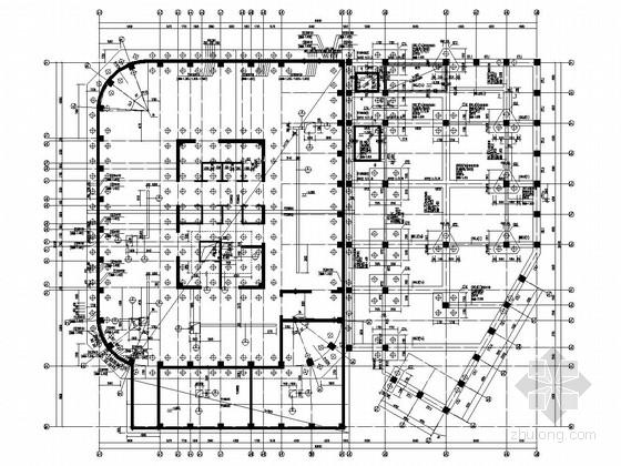 23层筒中筒结构公寓楼结构施工图