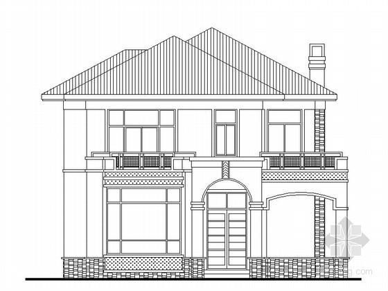 [东莞]某二层坡屋顶别墅建筑施工图(276平方米)