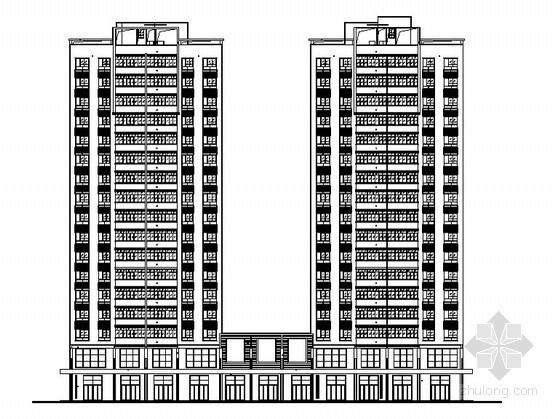 [株洲]城南某豪华小区住宅楼建筑施工图(含节能设计计算)