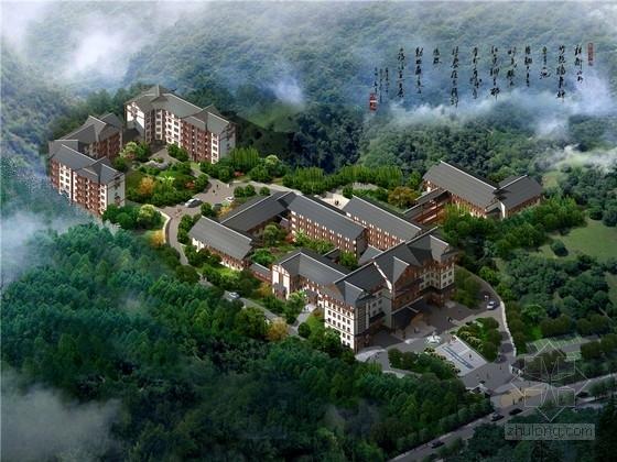 [湖南]新中式风格医院规划及单体建筑设计方案文本(含多媒体)