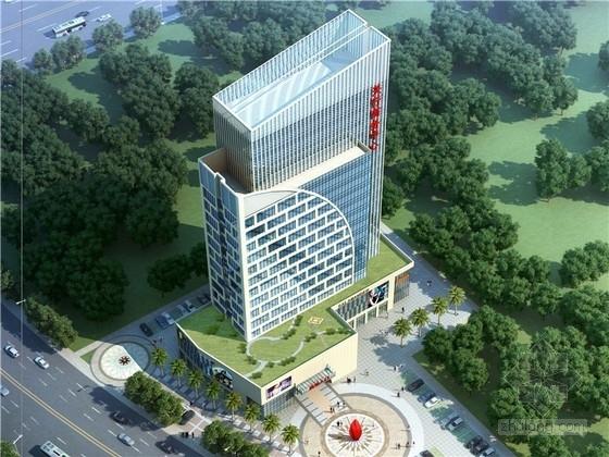 [福建]18层海浪造型商务办公楼建筑设计方案文本(知名设计院)
