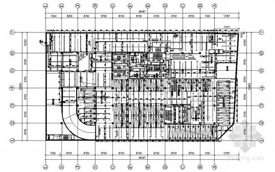 [浙江]商业购物广场给排水设计施工图(地下室、人防)